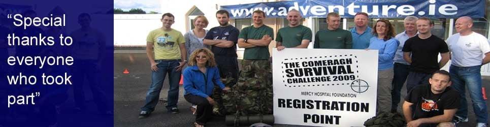 charity challenge events ireland