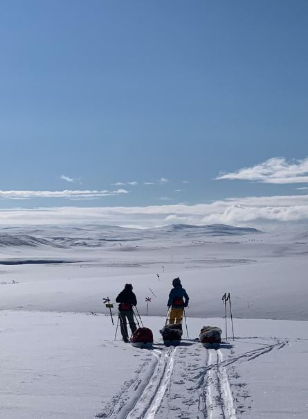 arctic ski expedition