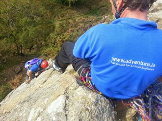 rock climbing dalkey