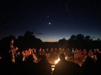 sahara desert challenge camping