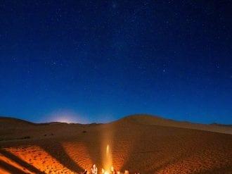 sahara desert challenge campfire