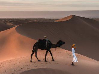 sahara desert challenge trek