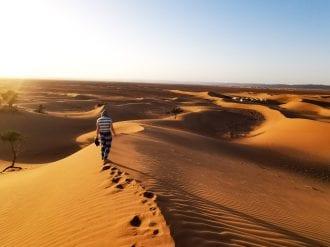 sahara desert challenge trekking
