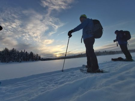 snowshoeing experience