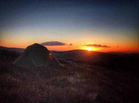 camping glendalough