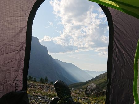 summit hike camp wicklow