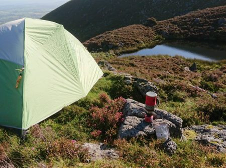 where to camp in wicklow mountains
